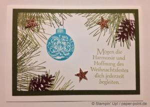 Karte Klassiche Weihnacht