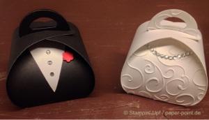 Zierschachtel Braut und Bräutigam