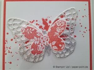 Glitzer Schmetterling