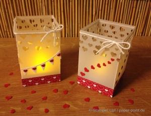 Teelichter mit Herz