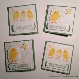 Mini-Karten Ostern