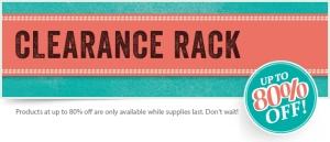 Clearance Rack / Ausverkaufsecke