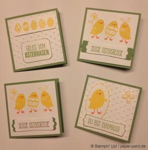 Mini-Karten Küken