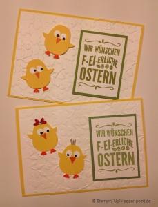 Osterkarte Küken