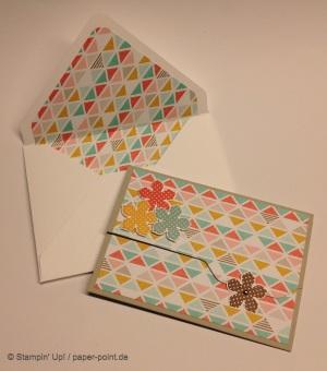 Karte und Umschlag