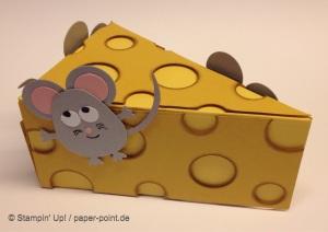 Geldgeschenk Mäuse und Käse
