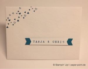 Umschlag Hochzeit