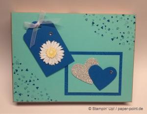 Fotobox Jade und Pazifikblau