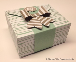 Kleine Geschenkverpackung