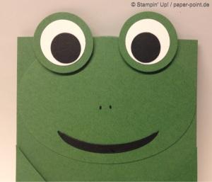 Gutscheinhülle Frosch