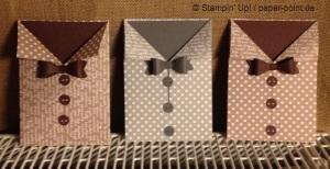 Karte Hemd mit Schleife
