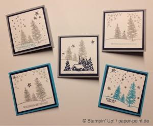 Mini-Weihnachtskarten