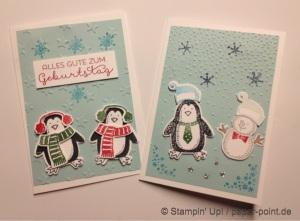 Weihnachtskarten Frostige Freunde