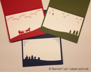 Weihnachtskarten innen