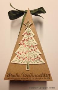 Tortenstück Weihnachtsbaum