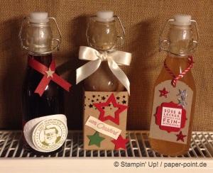 Flasche Weihnachten