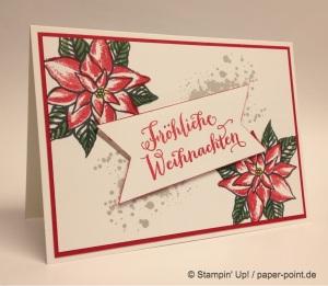 Weihnachtskarte Weihnachtswunder