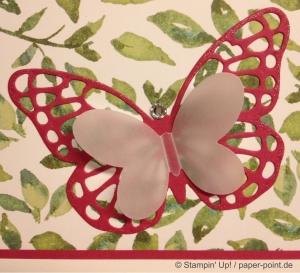 Geburtstagskarte Schmetterling