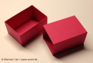 Anleitung Kleine Schachtel