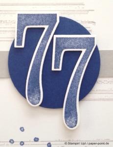 Geburtstagskarte 77