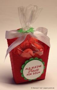 Gastgeschenk Erdbeere