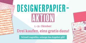 Designerpaper-Aktion