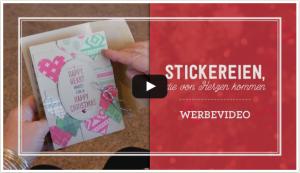 Werbevideo Stickereien