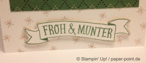 Weihnachtskarte Festtagsmäuse