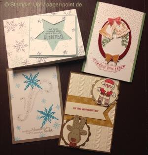 Workshop Weihnachtskarten