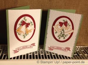 Weihnachtskarten Glocken