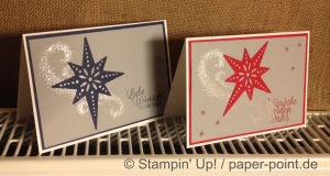 Weihnachtskarten Stern
