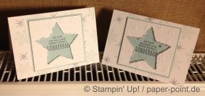 Weihnachtskarten Sterne