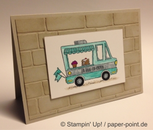 Geburtstagskarte Lecker-Laster