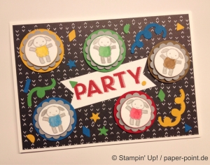 Geburtstagskarte Schaf