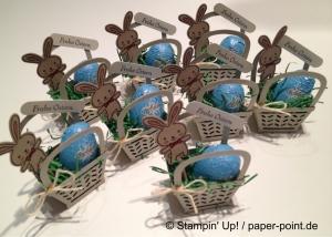 Gastgeschenke Osterkörbchen