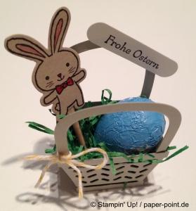 Gastgeschenk Osterkörbchen