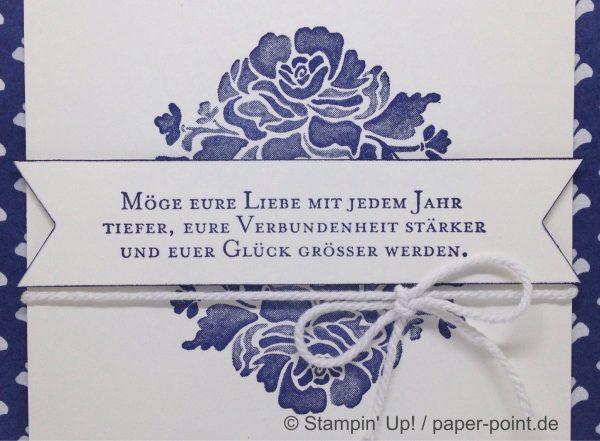 Hochzeit Marineblau