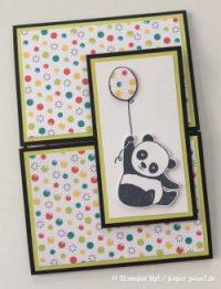 Geburtstag mit demParty-Panda